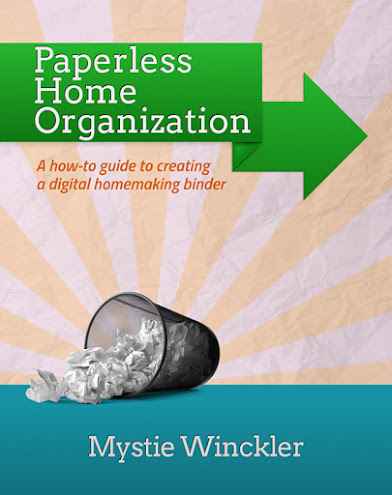 paperless organization digital home management