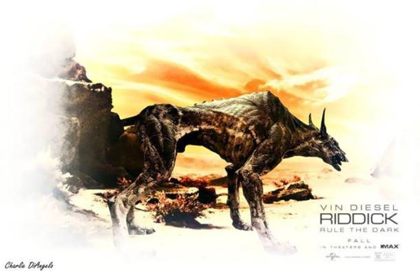 Riddick Charles DiAngelo Jackal Art