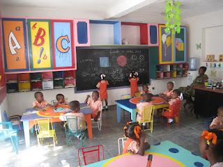 15 octobre 2011 - salle de classe (ancienne salle)