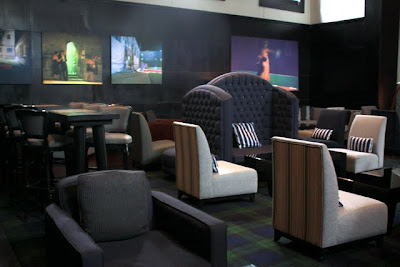 Bar at the Malmaison Hotel in Oxford England