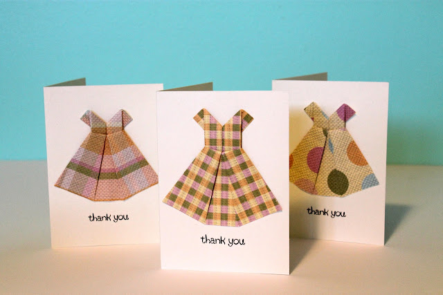 baby dress thank you notes