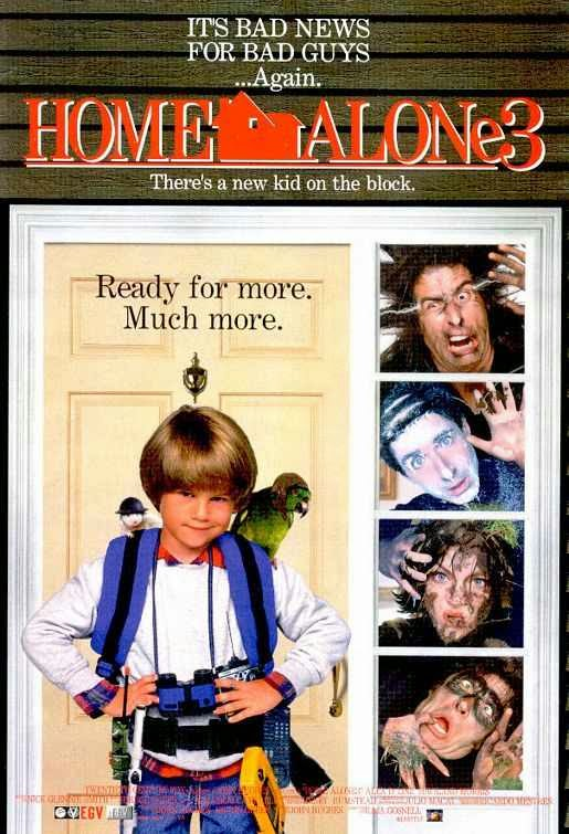 Poster Of Home Alone 3 (1997) Full Movie Hindi Dubbed Free Download Watch Online At Alldownloads4u.Com