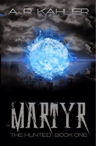 Cover Reveal: Martyr By A.R. Kahler