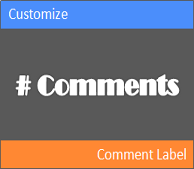 Customize Your Blogger Comment Label