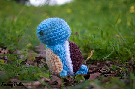 pokemon squirtle amigurumi