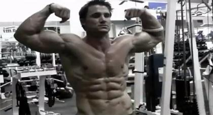 Fitness Model Male - Live Happy Be Fitness