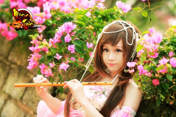 Chibi Bunny tung cosplay Mộng Tiên tuyệt đẹp 8