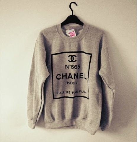 born to die chanel pullover. Black Bedroom Furniture Sets. Home Design Ideas
