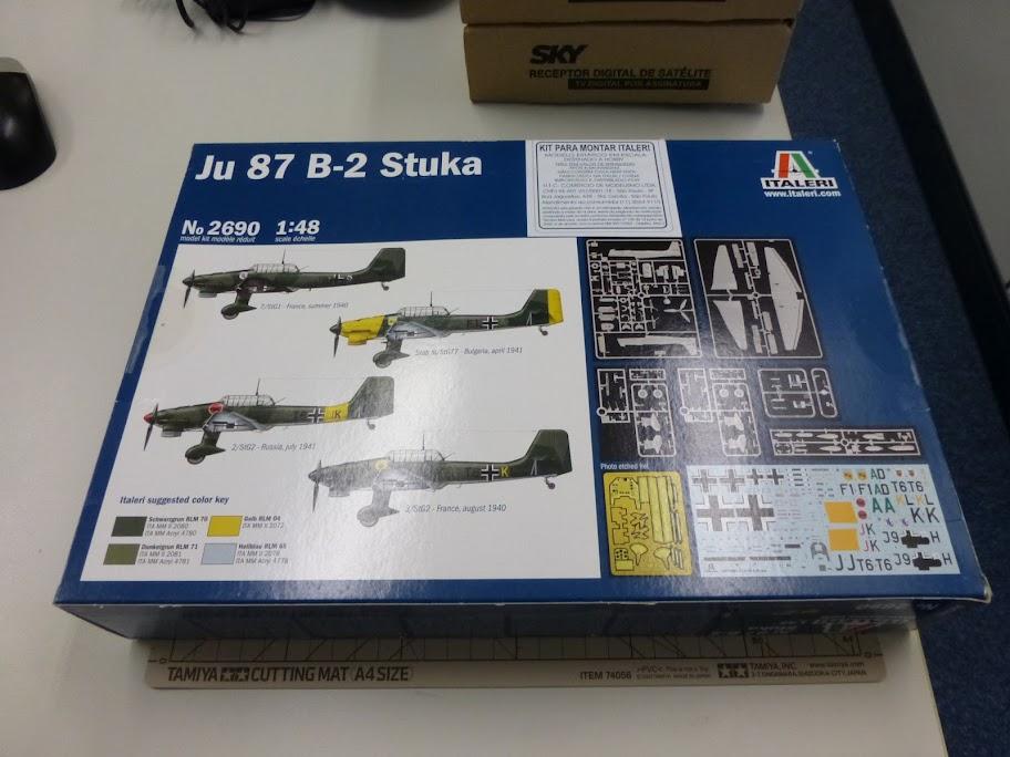 Junkers Ju 87 B-2 Stuka - Italeri - 1:48  P1050042