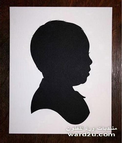 صورة ظلية و قصاصات فنية من فن السلويت