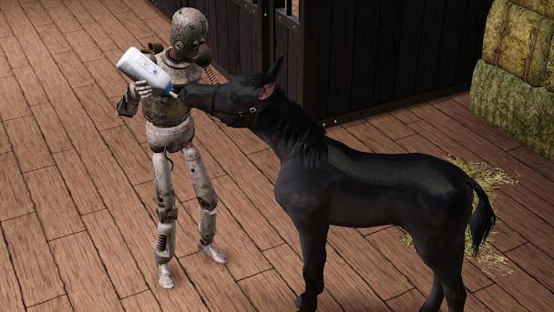 Лошадь симс 3