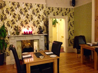 Dining room at The Mountsorrel