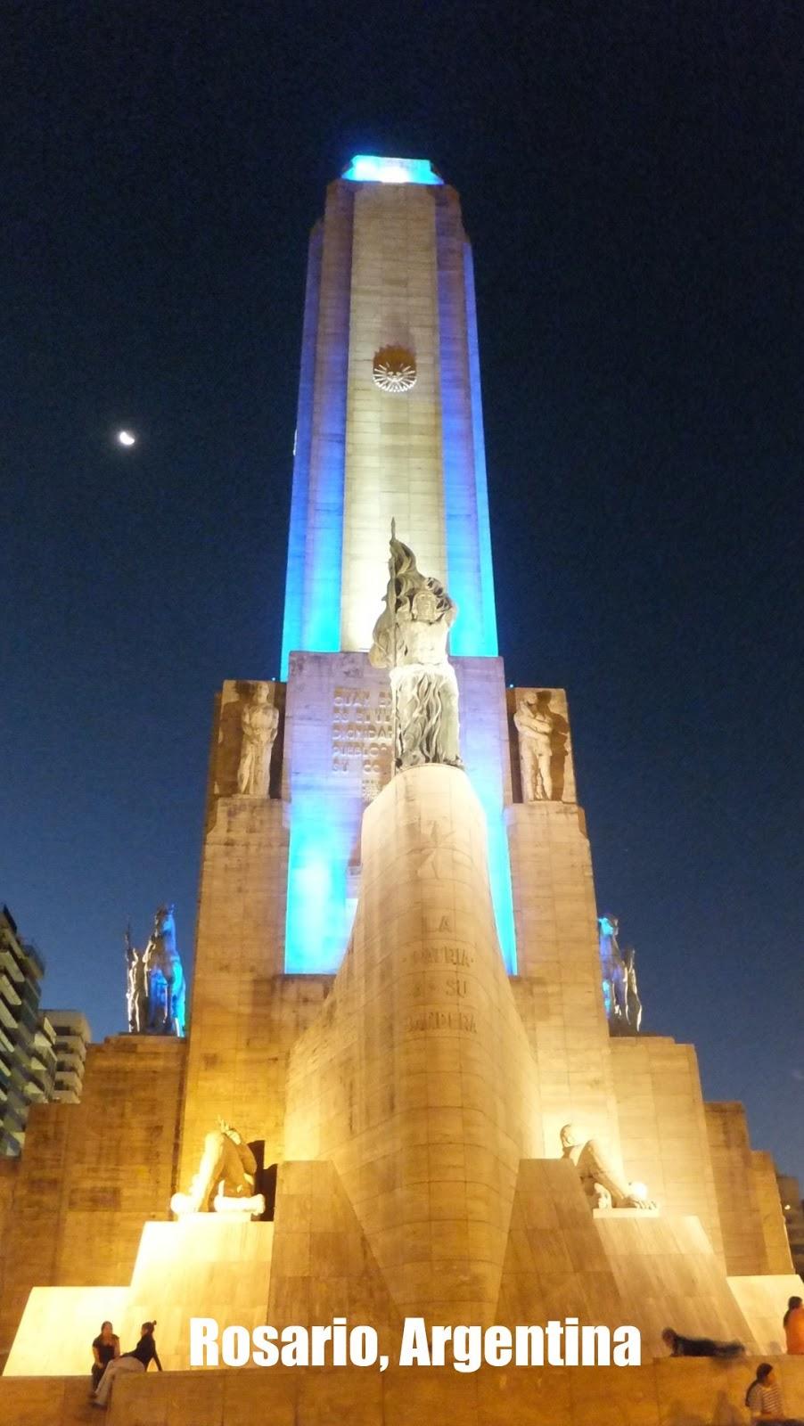 Monumento a la Bandera, Semana de la Gastronomía en Rosario
