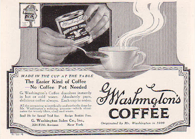 1920 George Washington Coffee