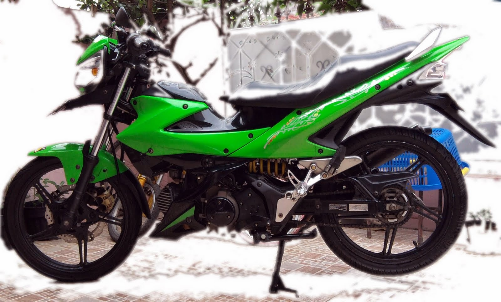 Kawasaki Athlete Modifikasi Trail