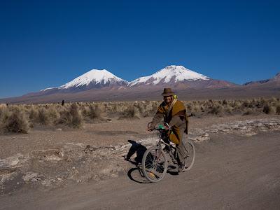 Els volcans bessons, el Parinacota i el Pomarapi
