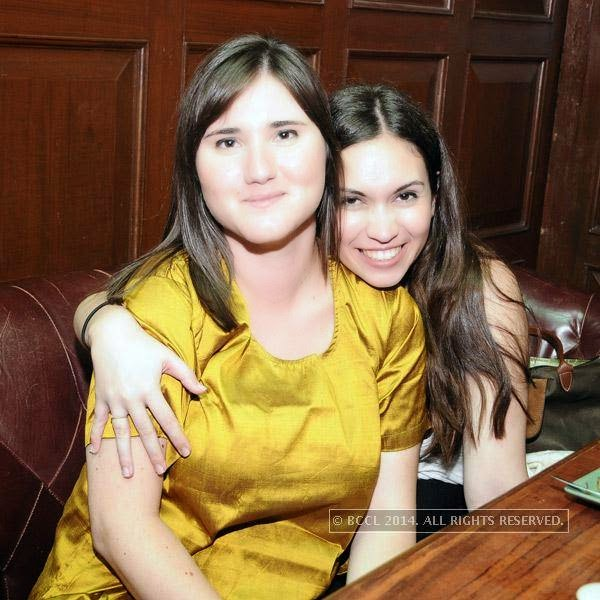 Claudie and Jane clicked during Weekend party at 10 Downing Street, held in Chennai.