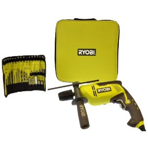 Buy Ryobi EID750A40 750W Impact Drill Complete with Accessories