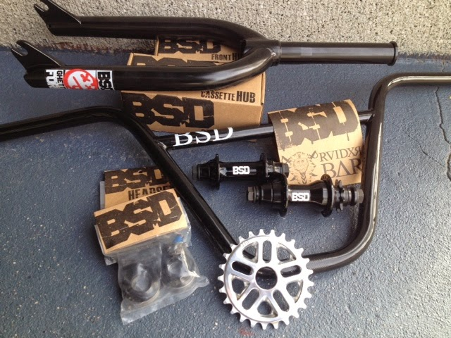 BSD ghetto v3 fork and raider bars circuit bmx