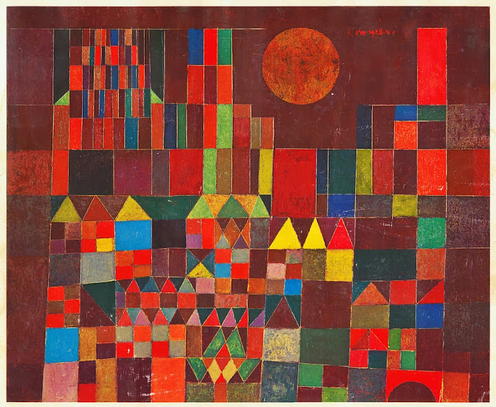 Paul Klee - Fortress and Sun, 1932