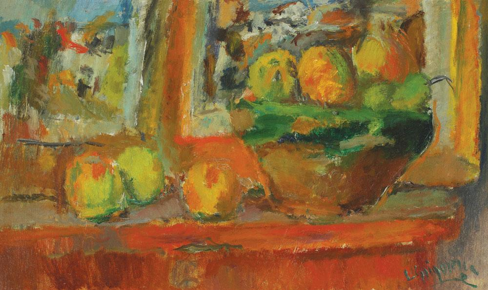 Lucian Grigorescu - Natură statică cu fructe