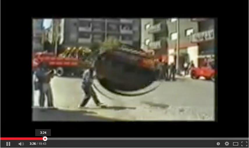 Vídeo - Simulacro realizado pelos Bombeiros Voluntários de Lamego em 1986