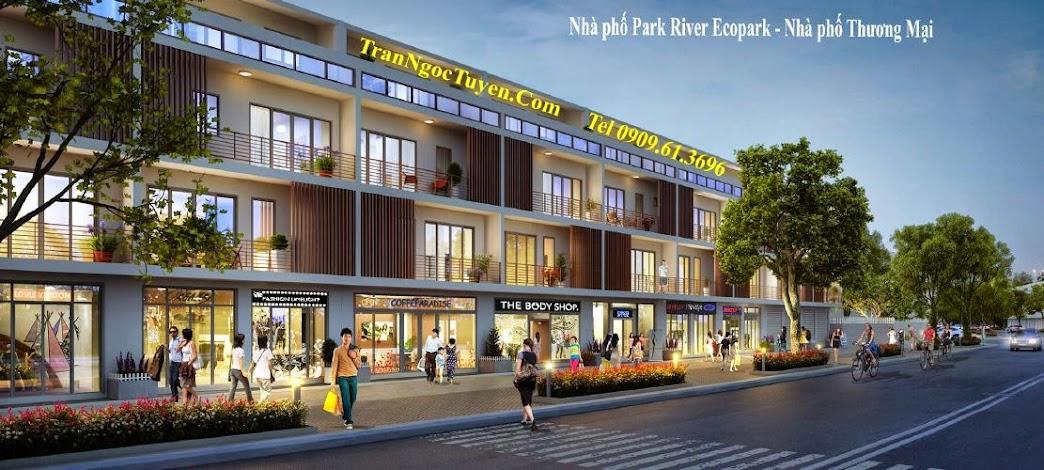 Ecopark Park River - nhà phố thương mại