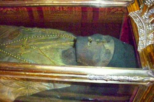 The Sacred Slippers Of Saint Dionysios - History And Tradition
