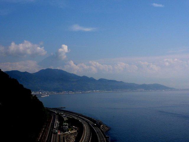 富士山 薩埵峠 東海道五十三次