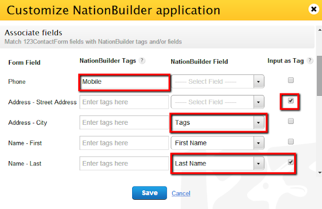 123FormBuilder NationBuilder tags