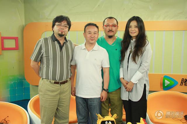 02.07.12: Triệu Vy trả lời phỏng vấn mạng QQ