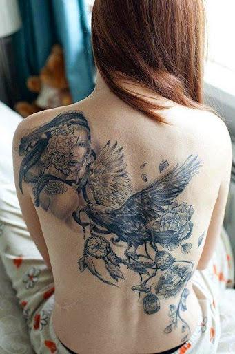 back tattoos designs