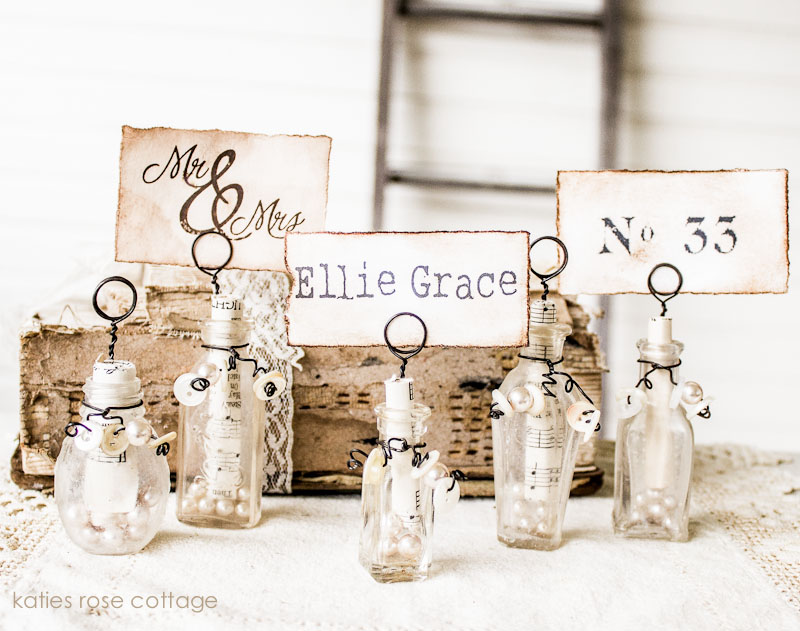 Vintage Petite Place Card Holders