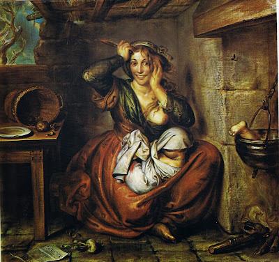 Antoine Wiertz - La Faim, Folie, Crime, 1864
