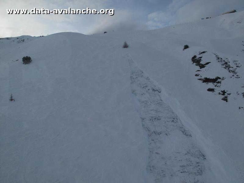 Avalanche Vanoise, secteur L'Arpette, Arcs 2000 - Photo 1