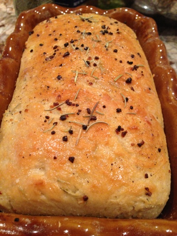 The Barnyard Bistro: Garlic Rosemary Peasant Bread