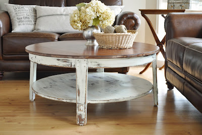 The Painted Hive Distressed Coffee Table