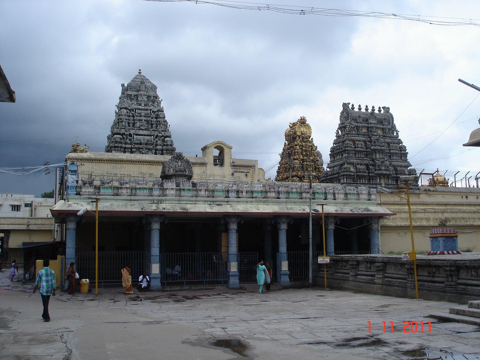 Sri Kanchi Kamakshi Ambal Temple, Kancheepuram Tamil Nadu - Shakti Peetha 02
