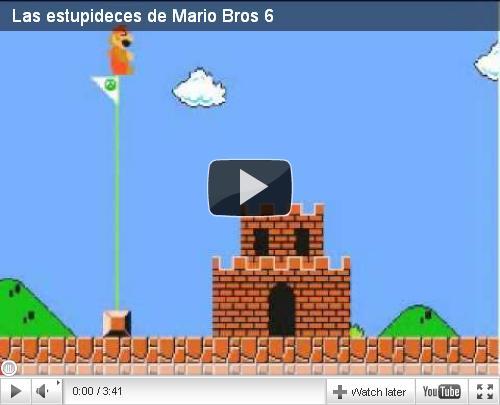 Los Videos Mas Divertidos de Super Mario Bros