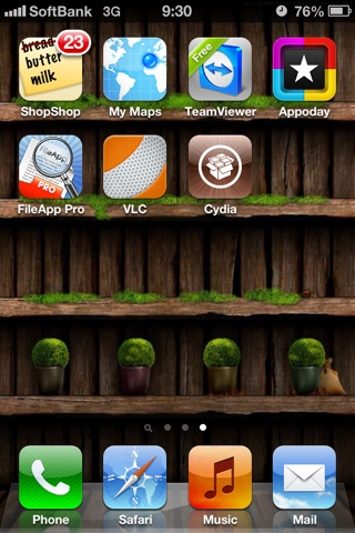 iOS 6.1 Jailbroken using evasi0n