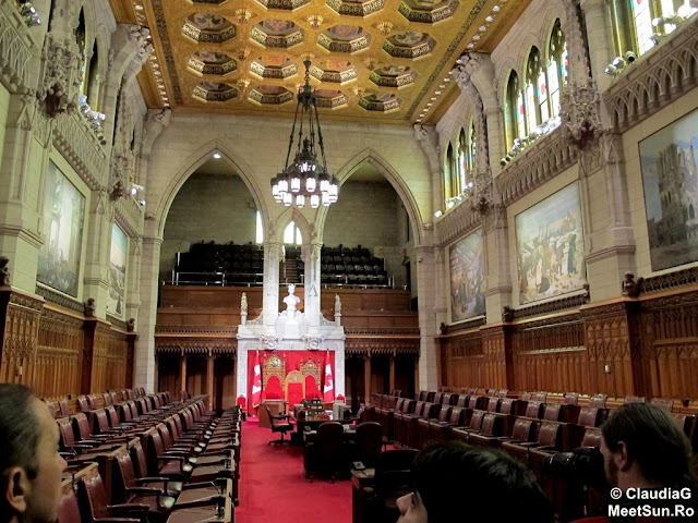 Ottawa - Parlamentul Canadei. Senatul