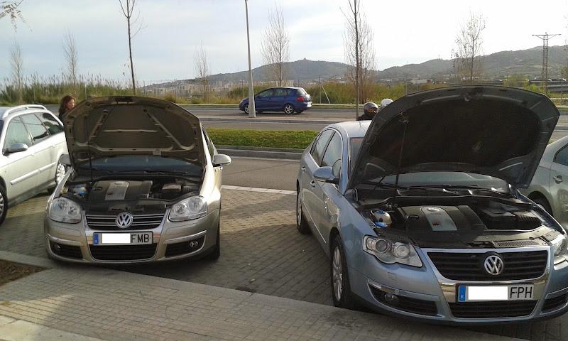 Saludillos desde Martorell (BARCELONA) VW Jetta 1.6 FSI 115cv SportLine 2007 20140324_171729