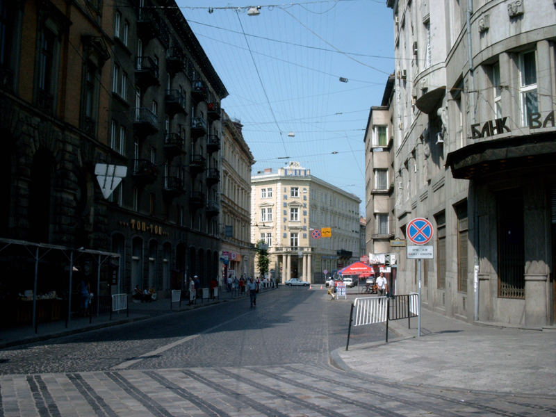 Львов. Улица Академика Гнатюка