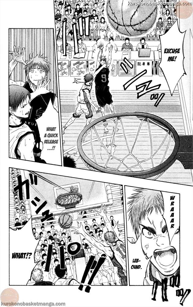 Kuroko no Basket Manga Chapter 64 - Image 10
