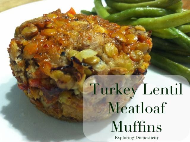 Turkey Meatloaf Muffins Turkey Lentil Meatloaf Muffins