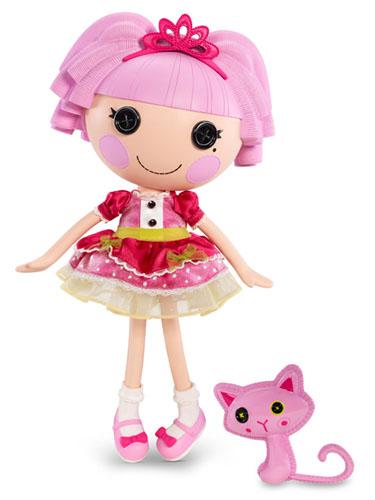 Lalaloopsy Jewel Sparkles y su mascota