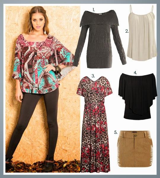 roupa marrom