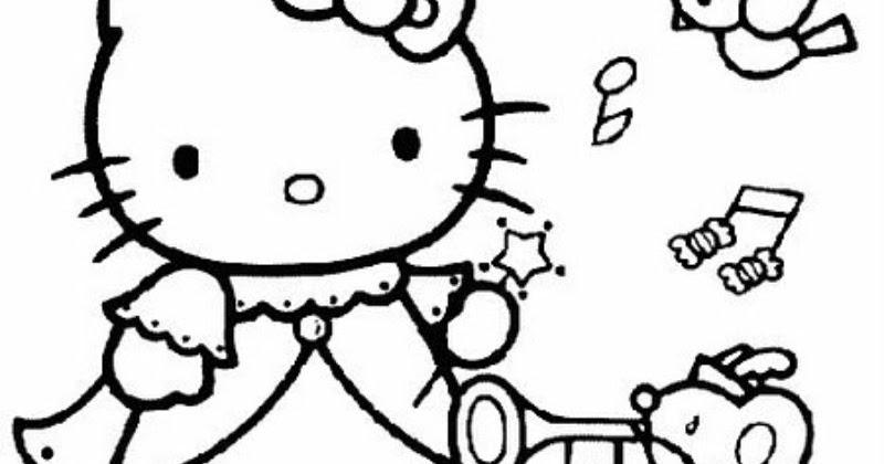 Dibujos Para Colorear Hello Kitty Princesa: Pinto Dibujos: Hello Kitty De Princesa Para Colorear