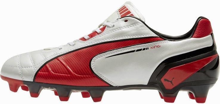 Puma King white 2013 boots