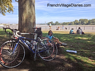 French Village Diaries September France Bordeaux cycling